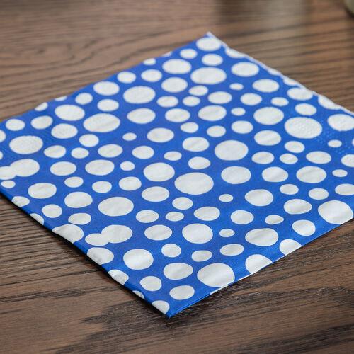 Bubbles Napkins 20 Pack - Blue