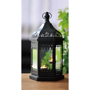 Moroccan Style Black Lantern