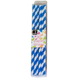 Bello Paper Straws 30 Pack