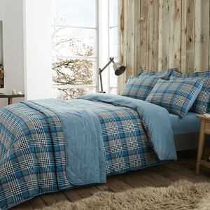 SINGLE DUVET COVER Brushed Cotton Rathruane