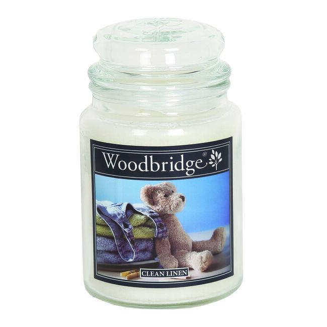 Woodbridge Clean Linen Large Jar