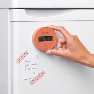 Brabantia Magnetic Kitchen Timer - Terracotta