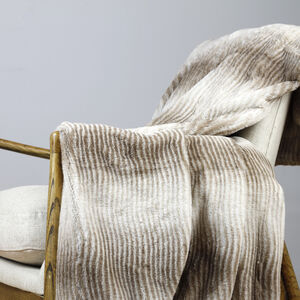 Ruane Ombre Natural Throw
