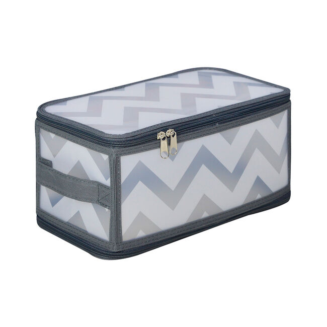 Clever Zigzag Clothes and Shoe Storage