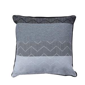 Griffen Ombre Cushion 45x45cm - Black