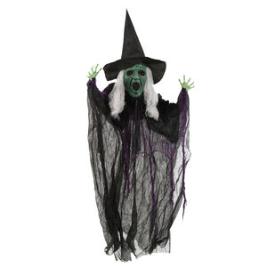 Hanging Lightup Witch