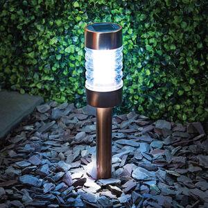 Copper Finish Solar Stake Light
