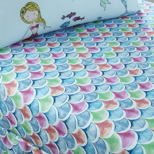 MERMAZING Single Fitted Sheet