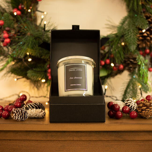 Cashel Living Sea Breeze Scented Candle
