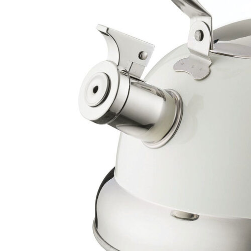 Typhoon Living Stove Top Kettle 2.5L - Cream