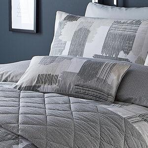 True Linear Grey Cushion 30cm x 50cm