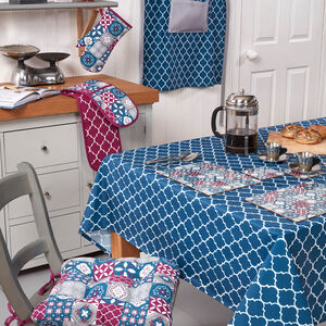 Mosaic PVC Table Cloth 160x230cm