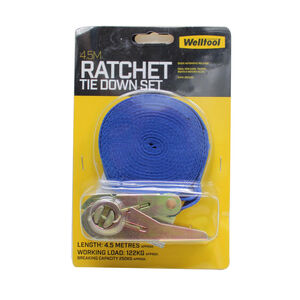 Ratchet Tie Down Set 45M