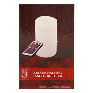 Colour Changing Candle Projector