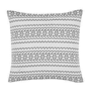 Summer Geo Grey Cushion 58cm x 58cm