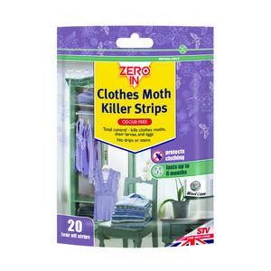 Zero In Clothes Moth Killer Strips
