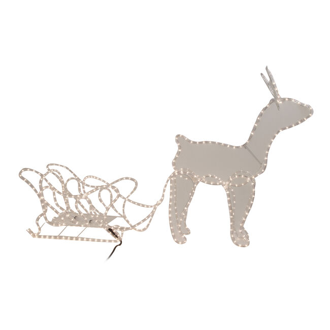 Reindeer & Sledge Rope Light