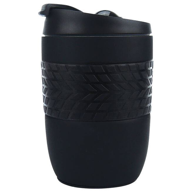 Body Go Stainless Steel Travel Mug 260ml - Black