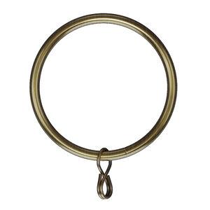 Metal Rings Antique Brass 50mm 10pk