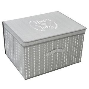 NEAT&TIDY GREY FOLDABLE Storage Chest