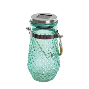 Hanging Glass Jar Solar Lantern