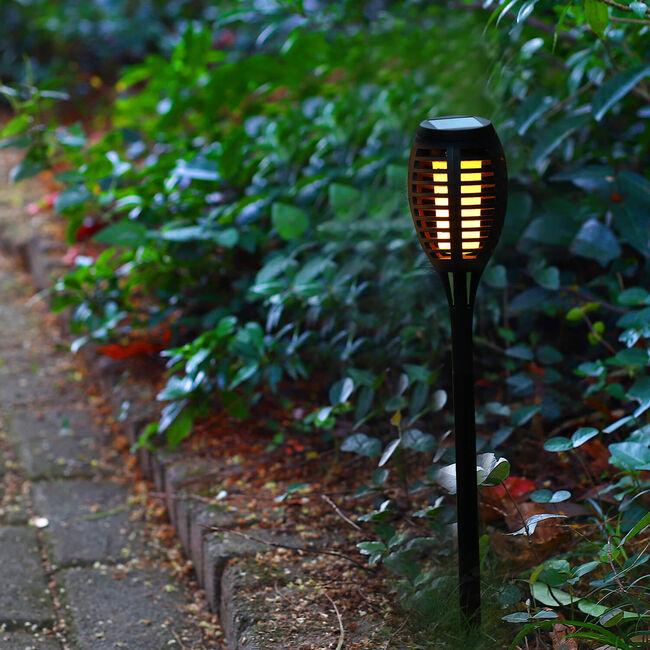 Flickering Flame Solar Torch Light
