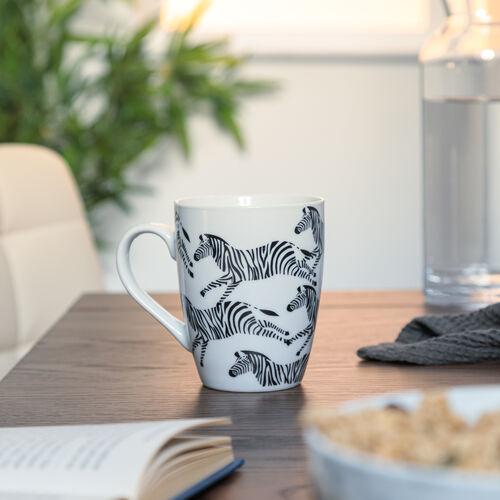 Zebra Fine China Mug
