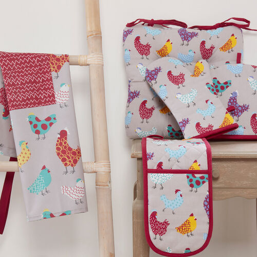 Happy Hens Double Oven Glove
