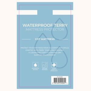 Waterproof Terry Cot Mattress Protector