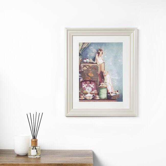 Everything Stops For Tea Framed 56 x 46cm