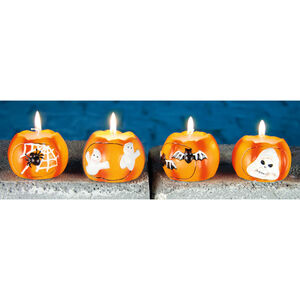 Halloween Ceramic Candle Light 5cm