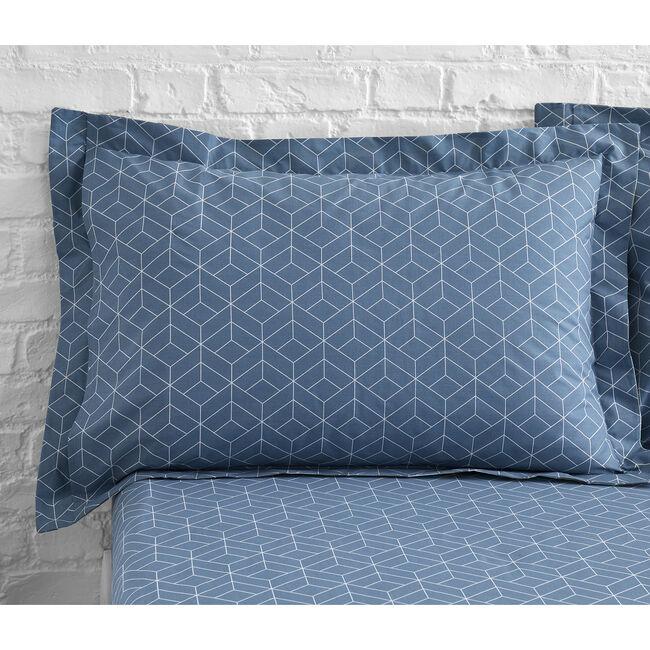 Jeremy Oxford Pillowcase Pair - Ochre