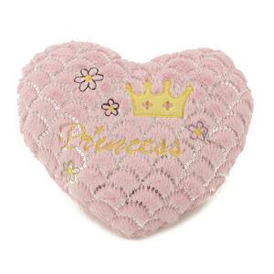Pink Hearts Princess Cushion 40cm x 40cm