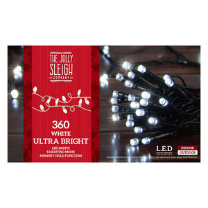 360 White Ultra Bright LED Lights