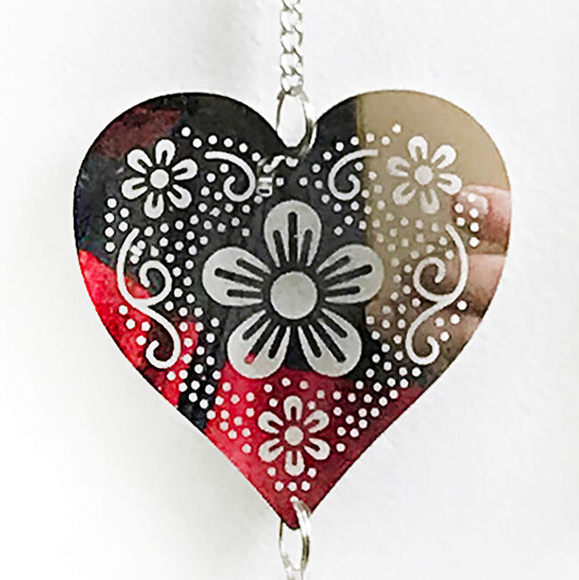 Butterfly Hearts and Spinner
