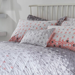 Marti Blush/Grey Cushion 30cm x 50cm