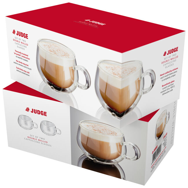 Judge 2 Double Wall Latte Glass