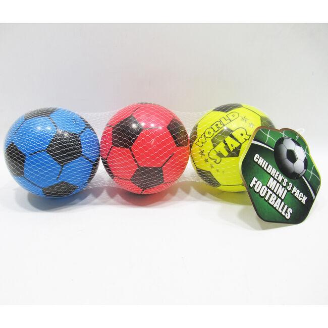 Kid's Mini Footballs - 3 pieces