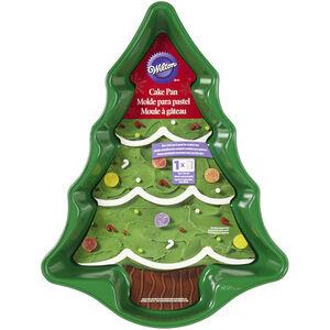 Wilton Nonstick Green Tree Cake Pan