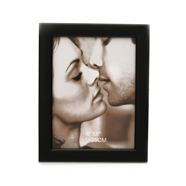 Black Ash Photo Frame 6x8""