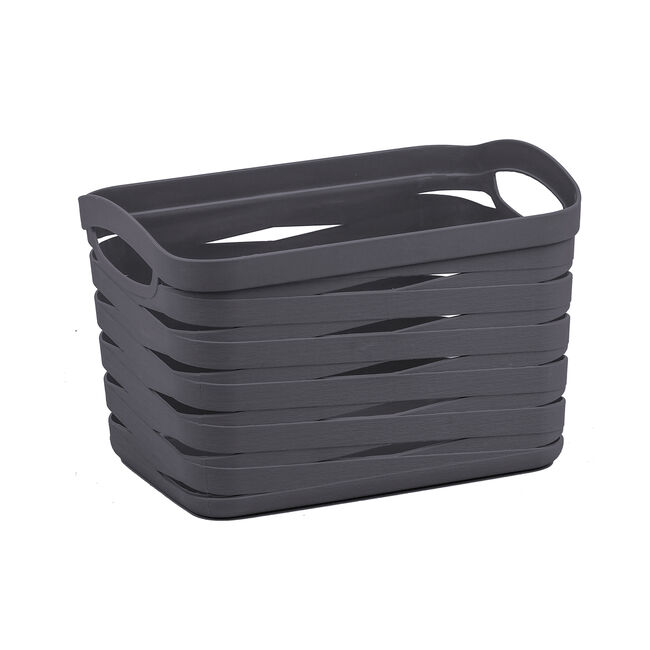 Ribbon Storage Basket 7L - Charcoal