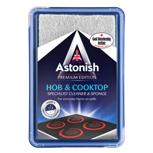 Astonish Premium Hob & Cooktop Cleaner with Sponge