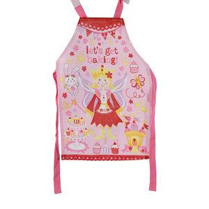 Princess Cupcakes Kid's Apron PVC