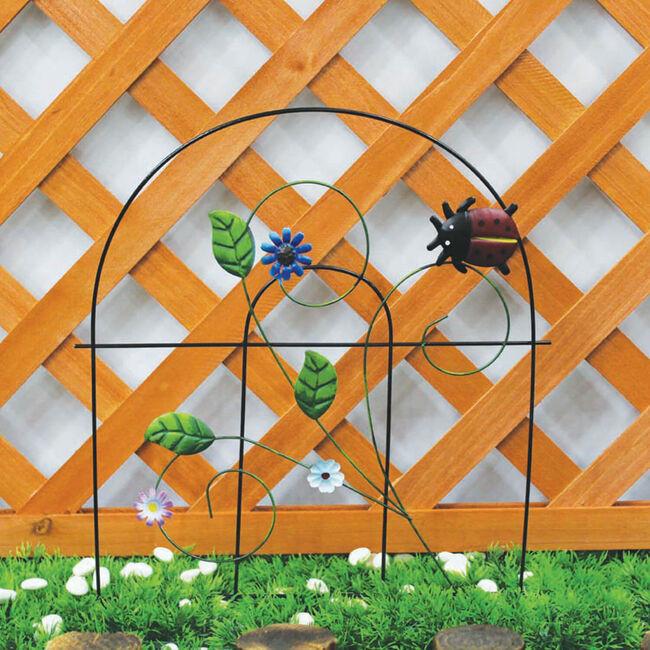 Ladybird Picket Fence