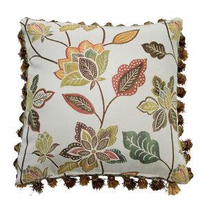 Jacobean Cushion Gold 45cm x 45cm