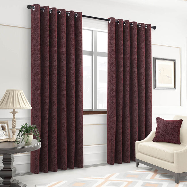 MAPLE RED 66x54 Curtain
