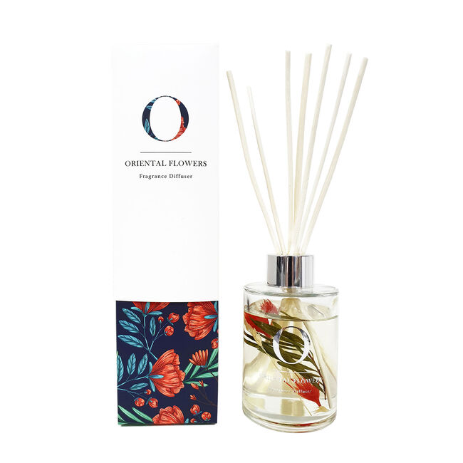 Floral Oriental Flower Reed Diffuser
