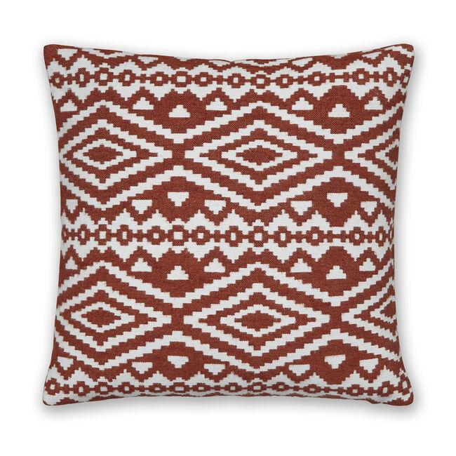 Aztec Cushion 45x45cm - Terra