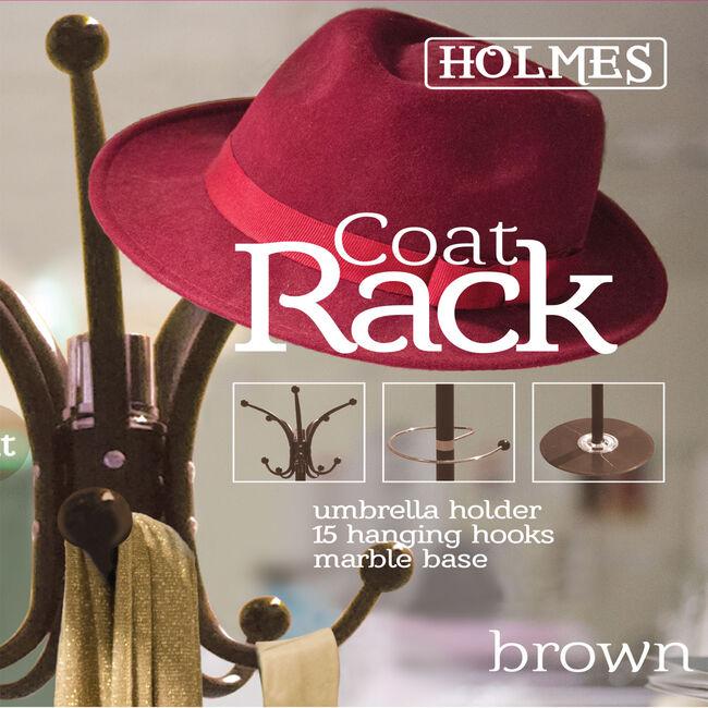 Holmes Coat Rack - Brown