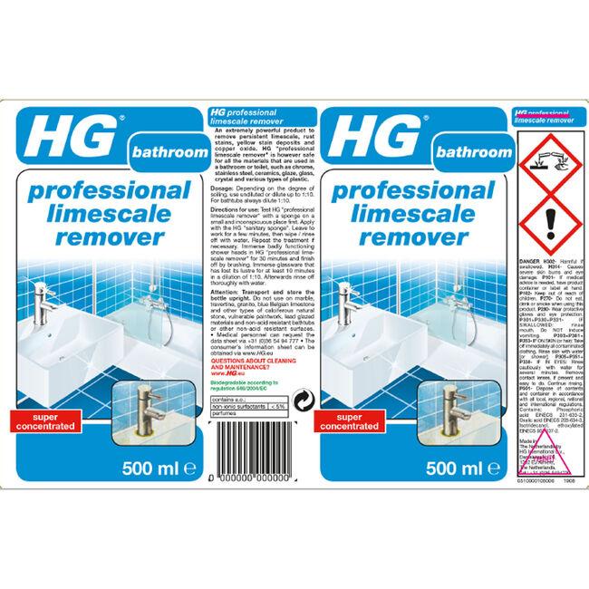 HG Professional Limescale Remover 0.5L